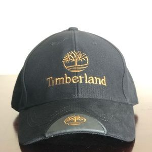 4fc3add9 Timberland Black Adjustable Hat Unworn